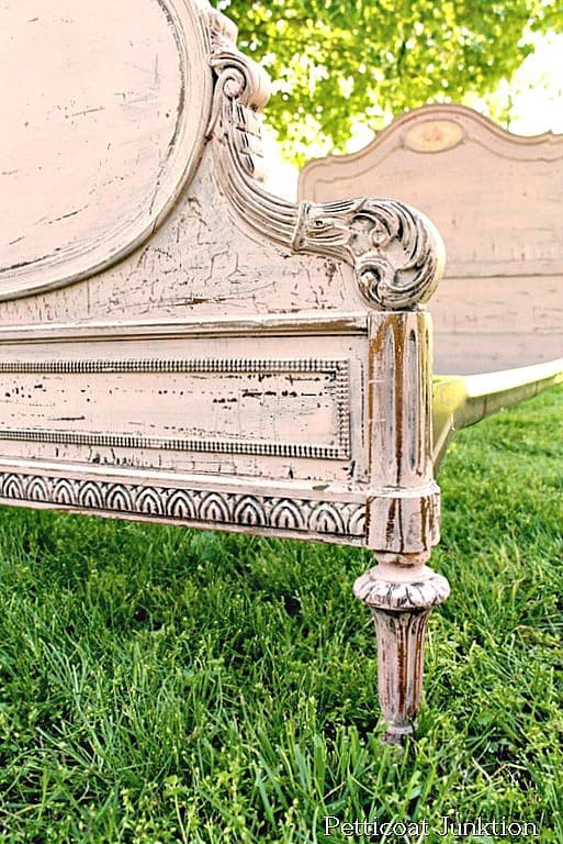 How To Paint Vintage Furniture With Milk Paint For A Chippy Finish