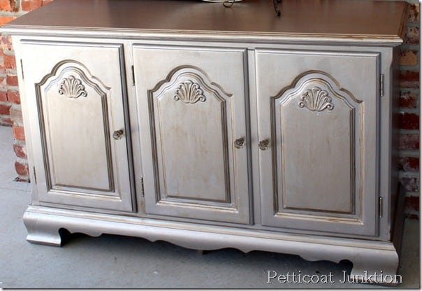 Painted Buffet To Become Bathroom Vanity Petticoat Junktion