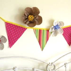 Pretty Paper Flowers, Easy Craft Project