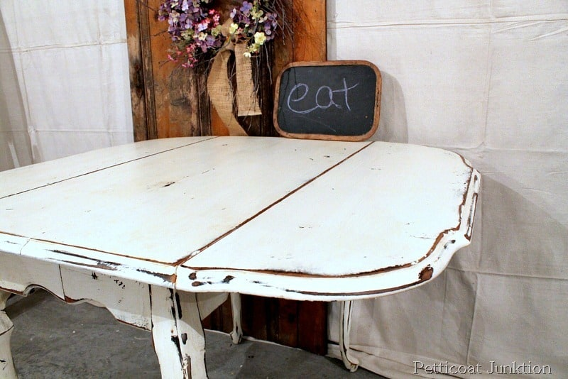 Distressed Gray Chalk Paint