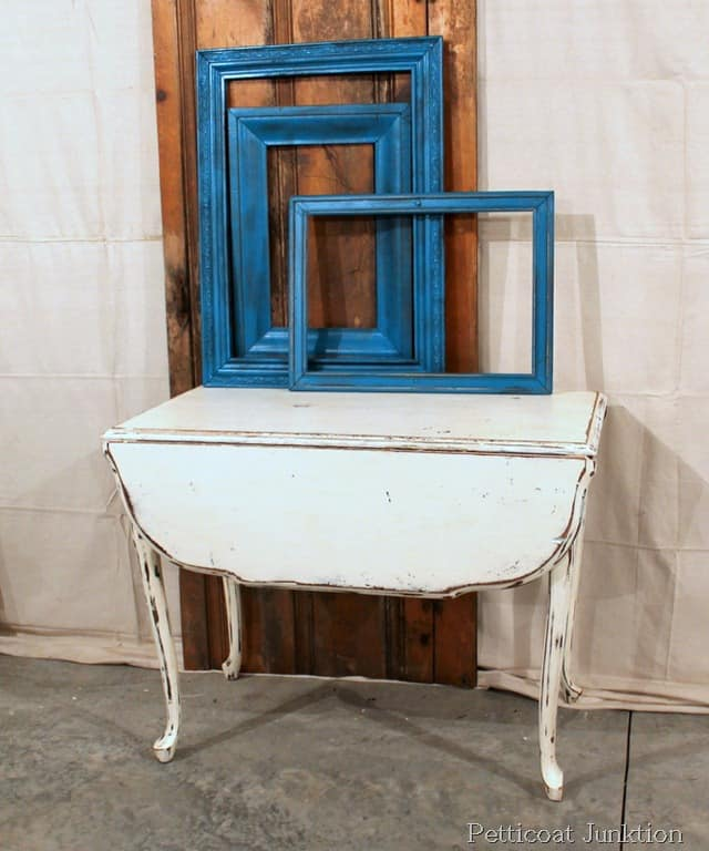 White Chalk Paint Table