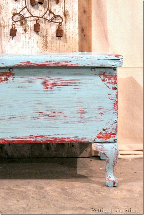 Let S Distress This Chest With A Wet Cloth Petticoat Junktion