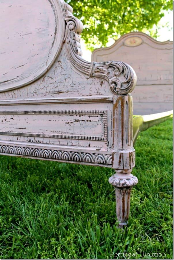 Fancy paint vintage furniture with milk paint