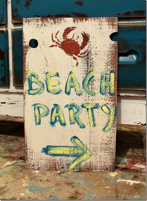 essay about beach party