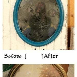 Create An Aged Mirror Out Of Clear Glass