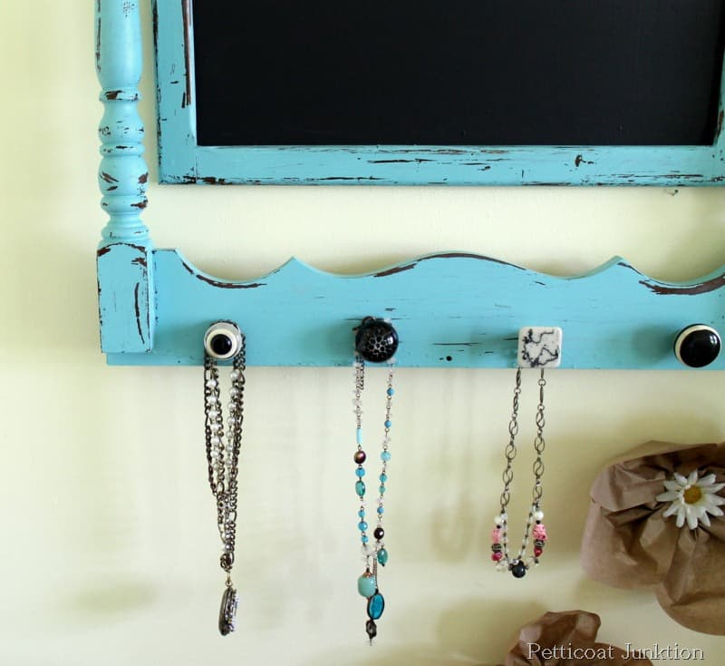 chalkboard hanger turquoise craft petticoat junktion