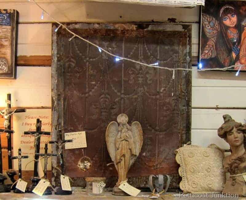 Tin Wall Decor rustic tin wall decor at alyssa's antique depot