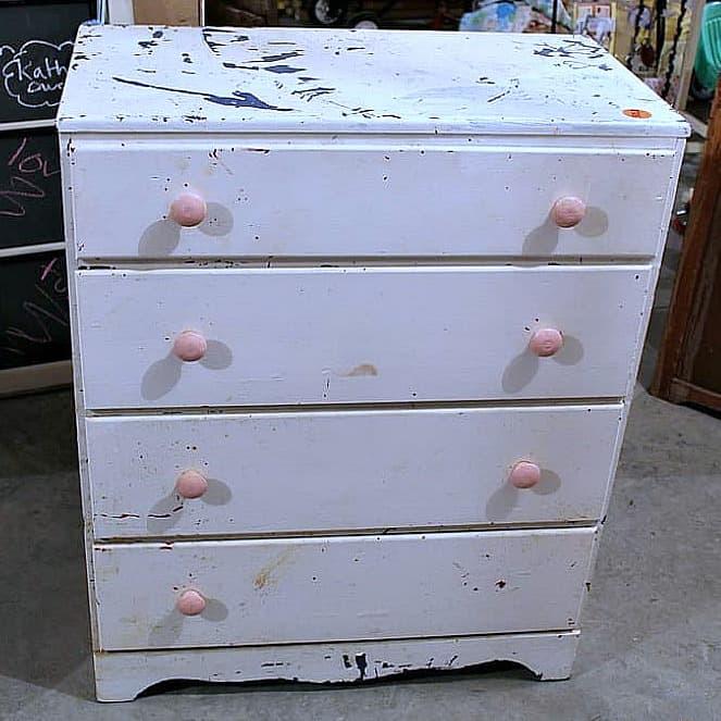 Buy furniture at the Nashville Flea Market and flip the furniture