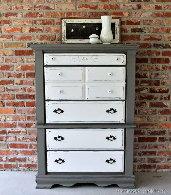 Furniture Makeover- Before And After