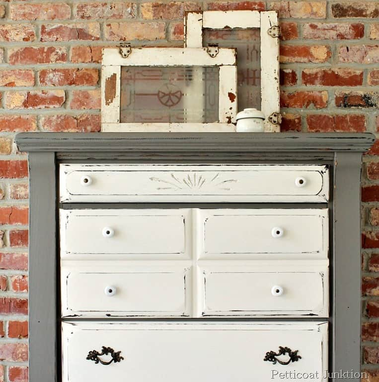 Furniture Makeover Before And After Petticoat Junktion