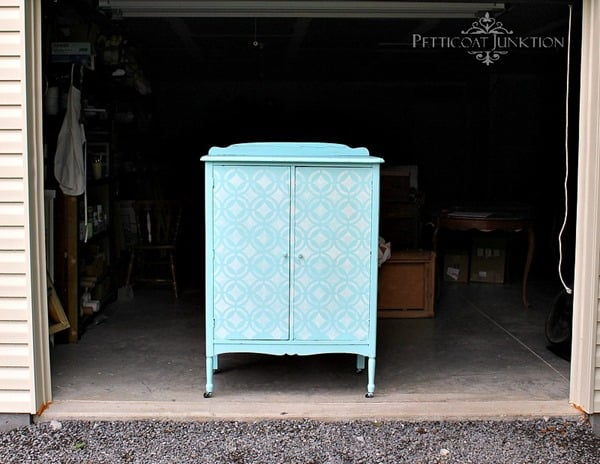 stenciled-painted-furniture, Petticoat Junktion