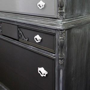 Frosted Paint Finish Tutorial For Furniture