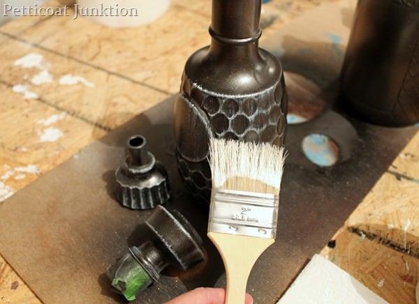 dry-brush paint technique