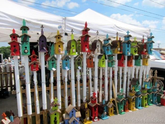 handmade wood birdhouses