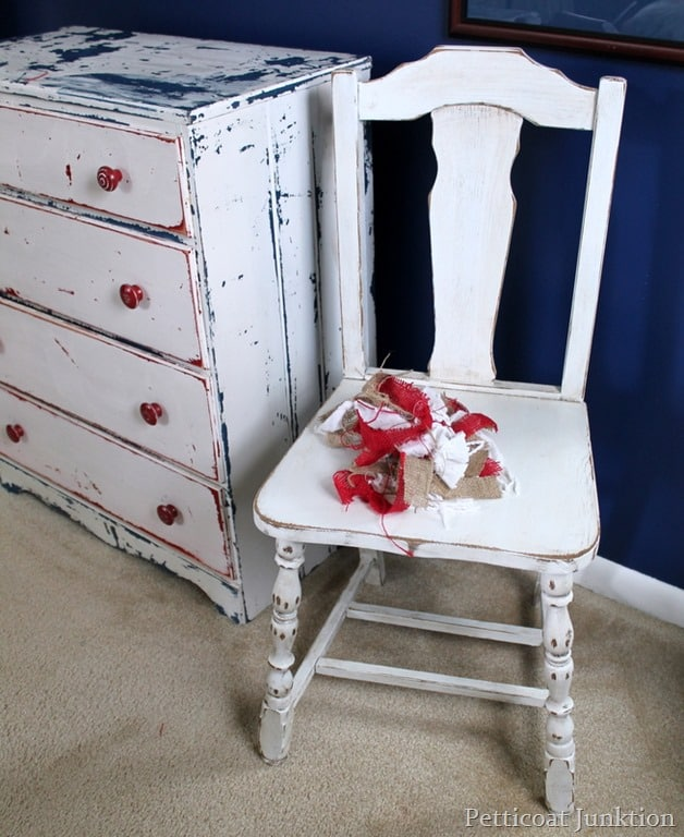 Chair TrioPainted And DistressedPetticoat Junktion - Distressed chairs
