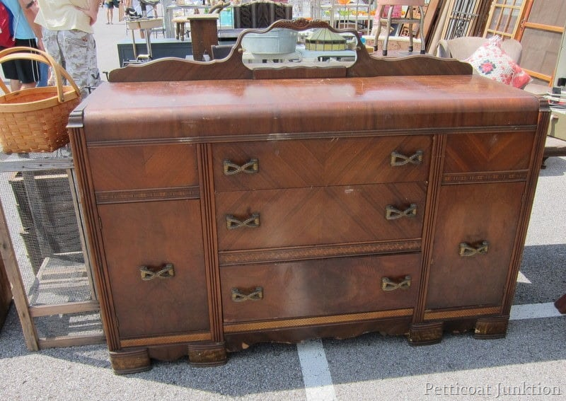 Mid Century Modern Furniture at the Nashville Flea Market