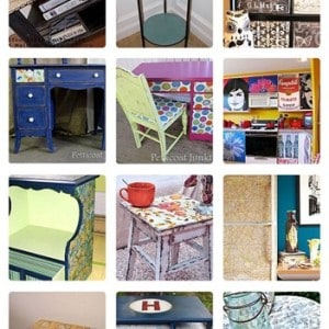18 Dazzling Decoupage Projects