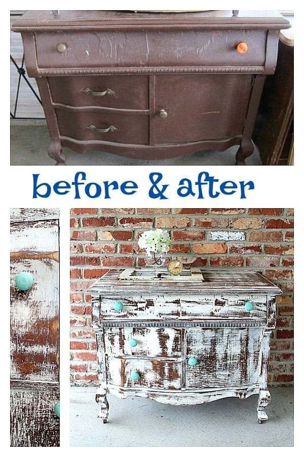 shabby chic white furniture