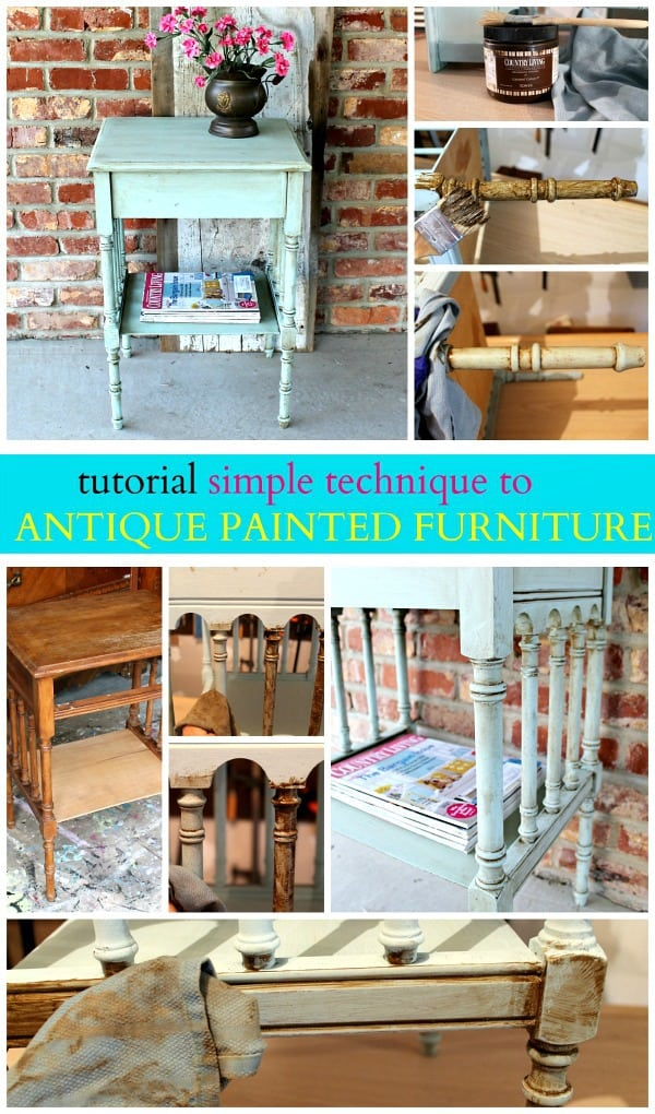 How To Antique Furniture Antiquing Or Aging Furniture