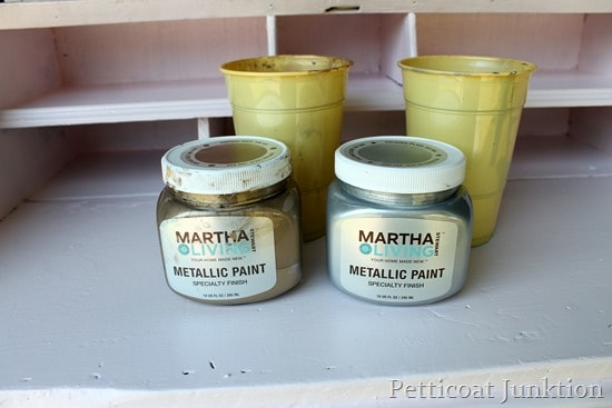 Martha Stewart Living Metallic Paint