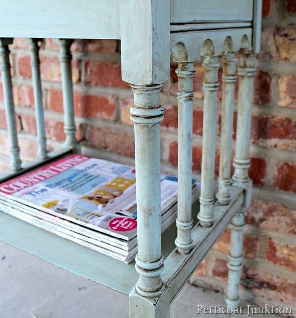 how to antique paint