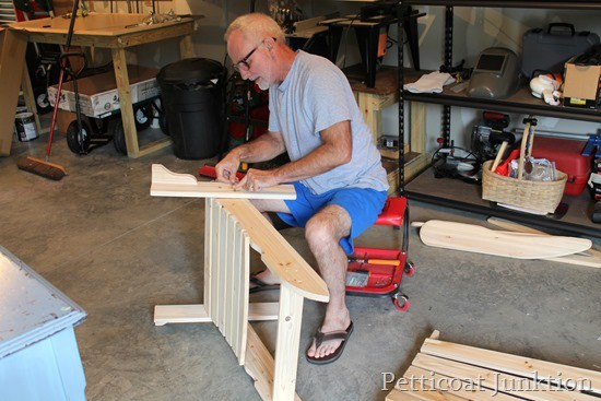assembling adirondack chairs