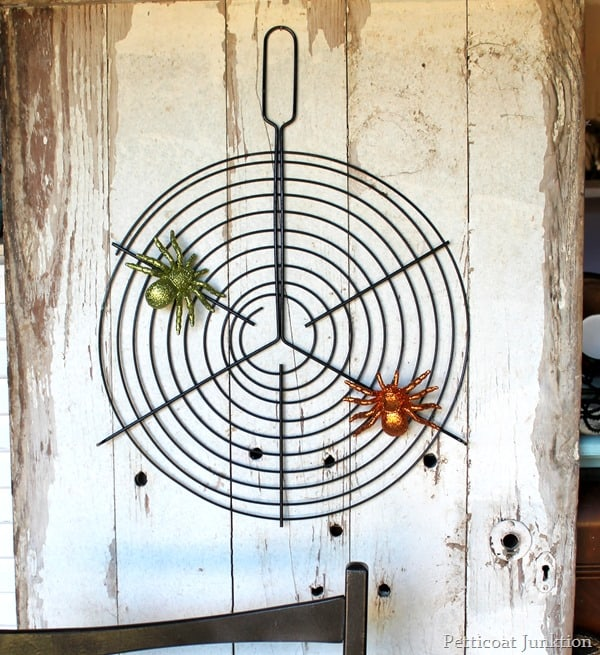 spider web grill rack
