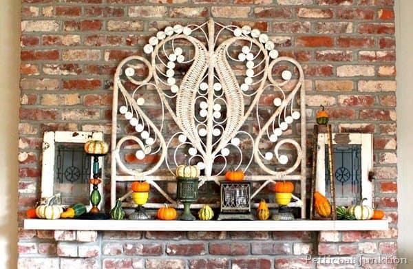mantel display for fall