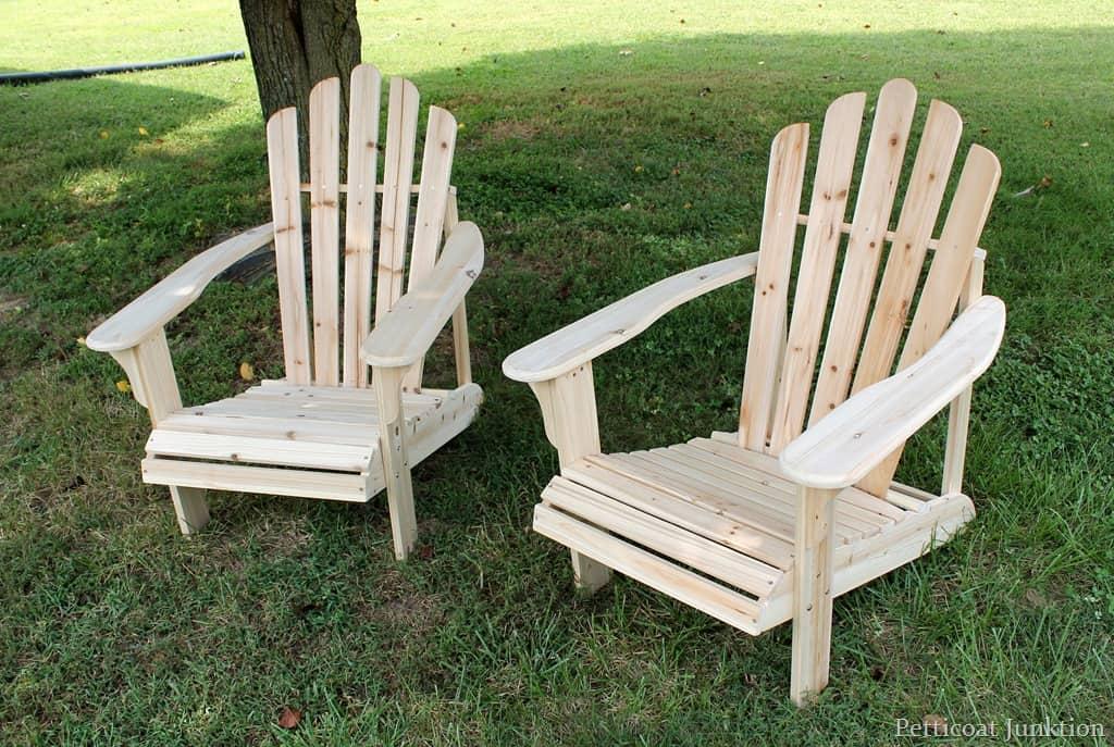 Сделать простые стульчики