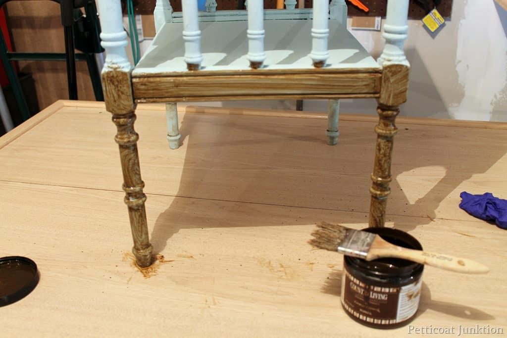 Toner Tutorial How To Antique Painted Furniture
