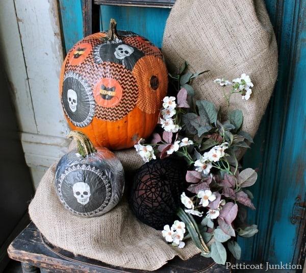 Decoupage Pumpkin Project Martha Stewart Crafts