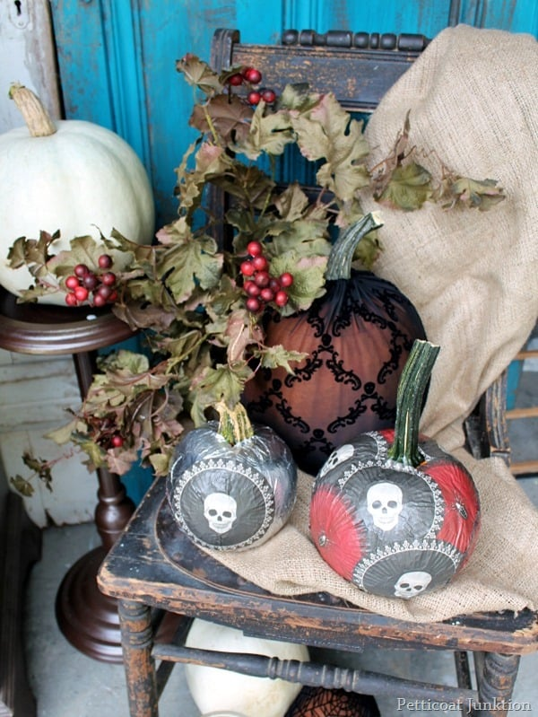 Decoupage Pumpkins Martha Stewart Crafts
