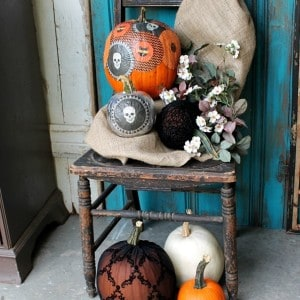 Decoupage Pumpkins–Martha Stewart Crafts