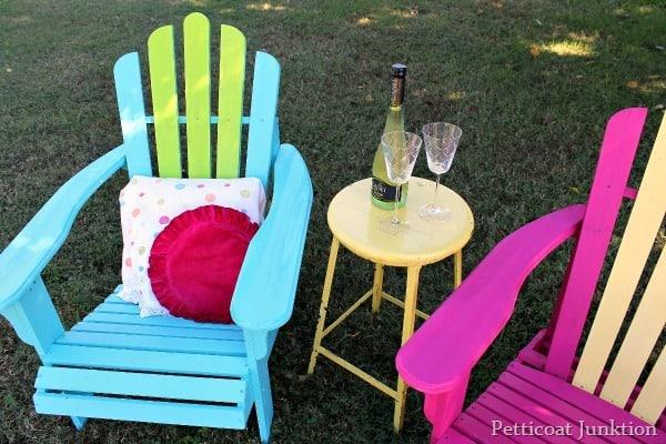 Adirondack Chairs Painted