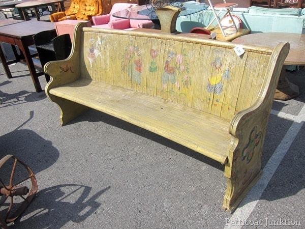 bench nashville flea market