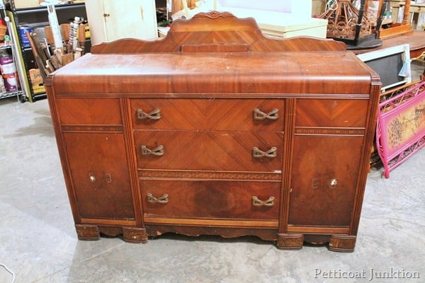 buffet before makeover