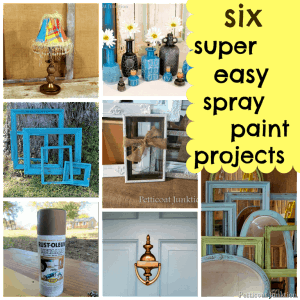 Six Super Easy Spray Paint Projects-Hardware and Home Decor