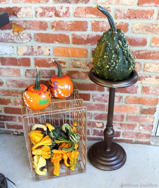 Simple Spray Paint Project Halloween Decor Petticoat Junktion