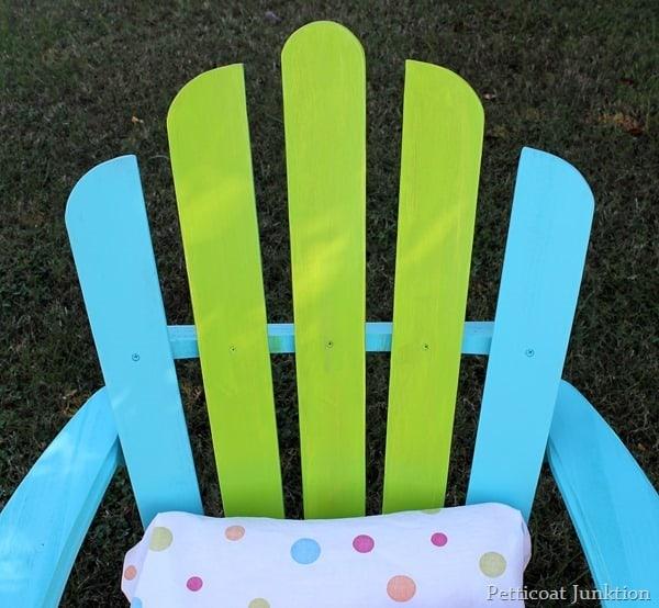 paint an adirondack chair