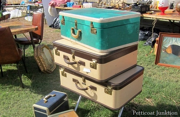 vintage luggage nashville flea market