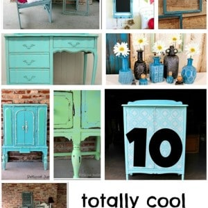 10 TOTALLY COOL TURQUOISE PAINT PROJECTS