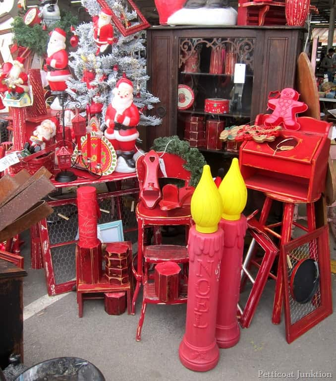 Christmas craft ideas from the nashville flea market for Flea market home decor