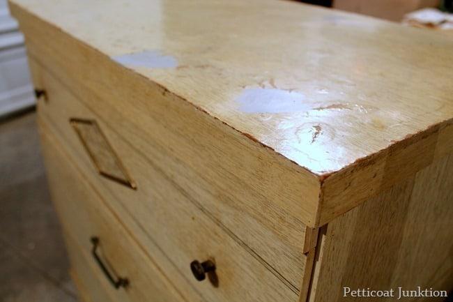 damaged mdf furniture