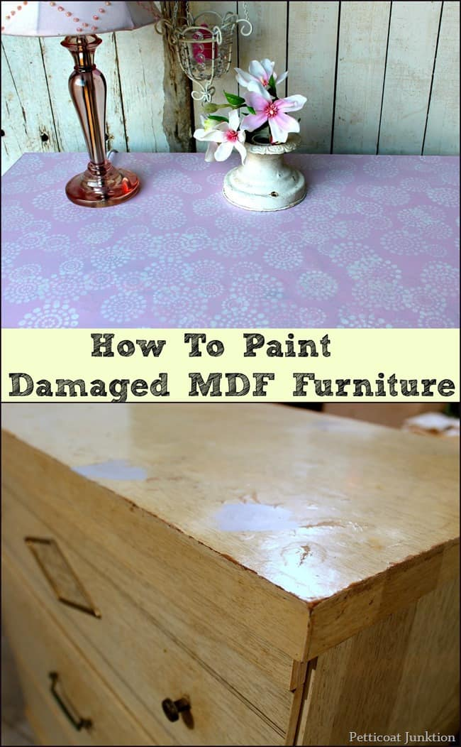How To Paint Mdf Furniture With Damaged Surfaces