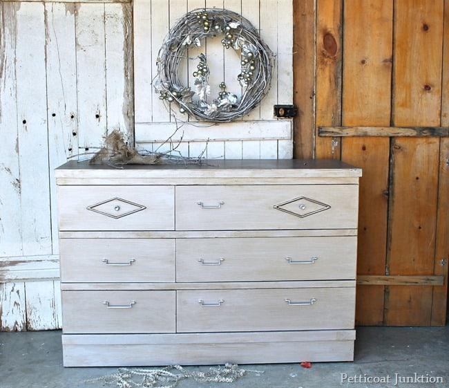 metallic silver furniture