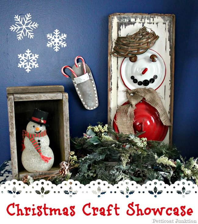 Christmas Craft Showcase featuring a Diy Snowman