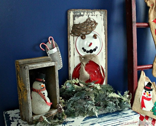 Christmas craft showcase diy snowman 1