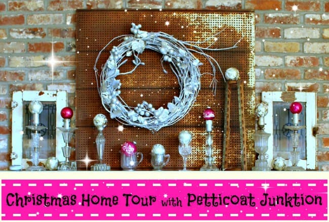 Christmas mantel 12 days of christmas tour
