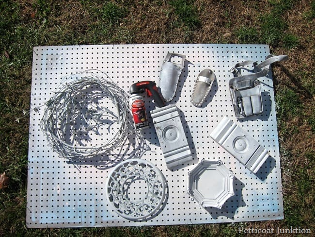 white spray paint projects