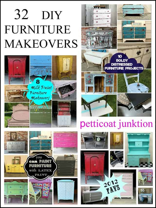 32 Diy furniture makeovers Petticoat Junktion